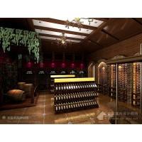 别墅地下室红酒窖设计制作