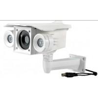 双阵列红外监控摄像头 高清摄像头 夜视防水摄像头